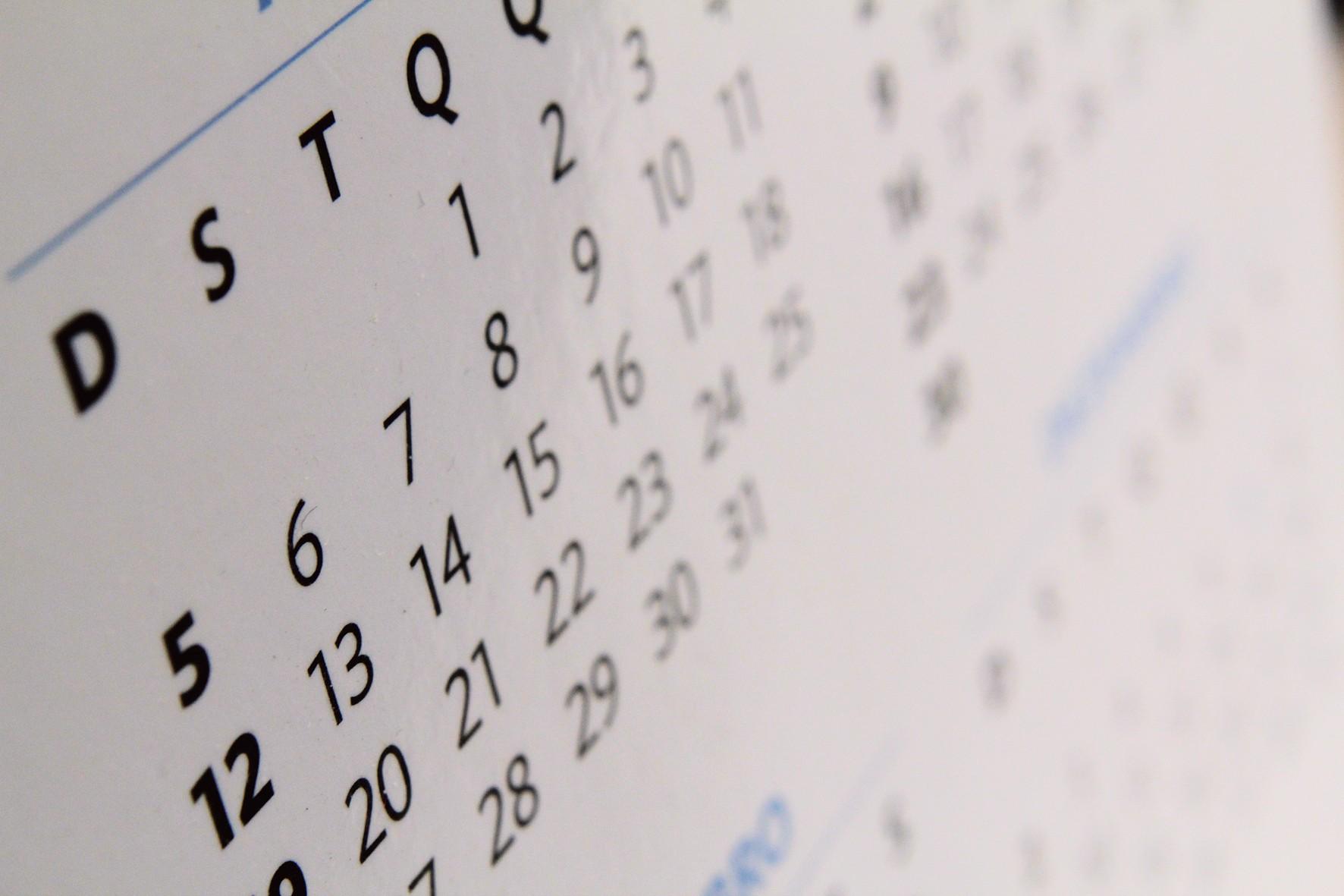 Calendário vestibular Fuvest 2019