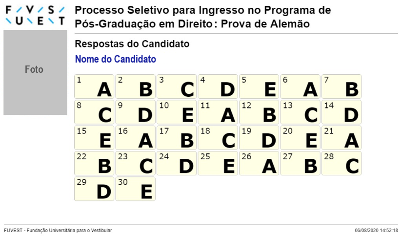 Comprovante (Exemplo)
